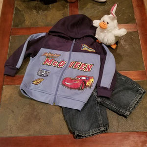 Matching Sets - Cars jacket and jeans